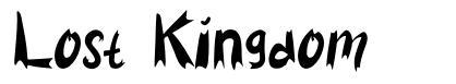 Lost Kingdom font