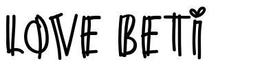 Love Beti fonte