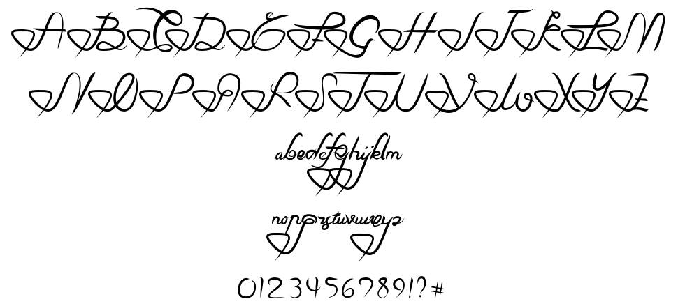 Love In You font