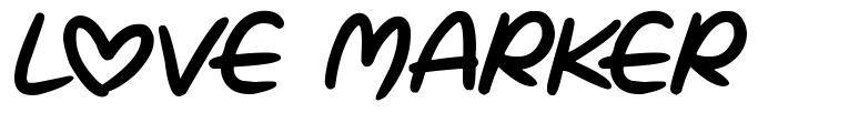 Love Marker