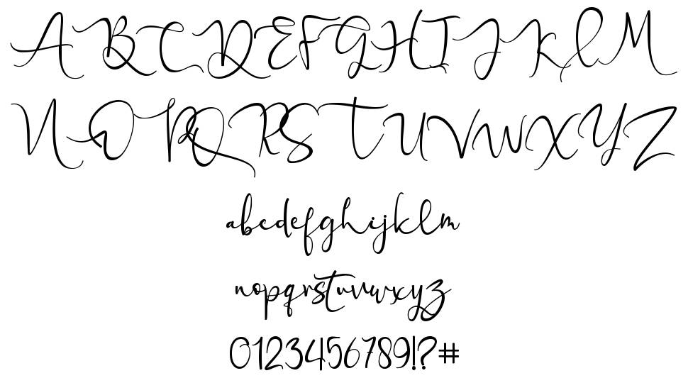 Love Miracle font