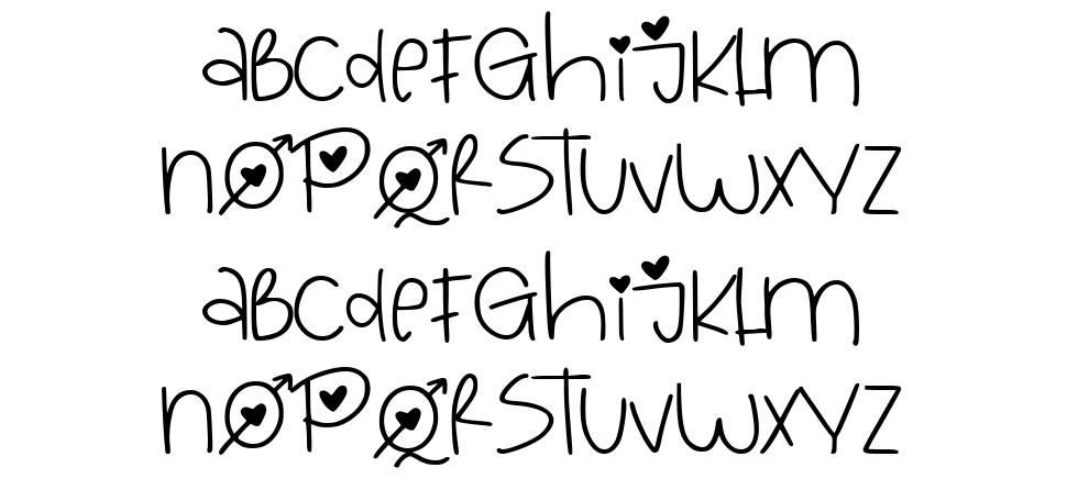 Love Queen font