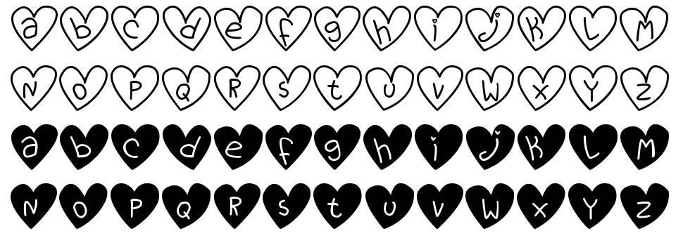 Love You TFB font