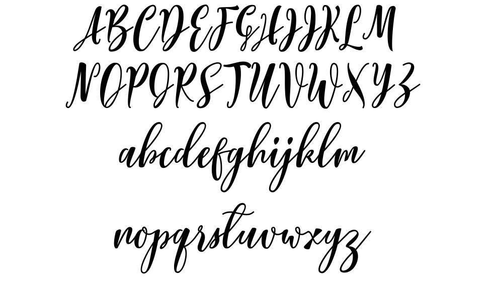 Lovelyou Script шрифт