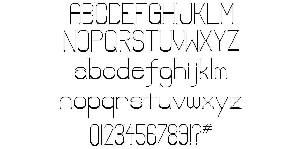 Lower-Lay font
