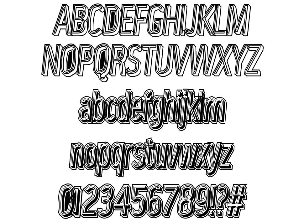 Lower Metal font