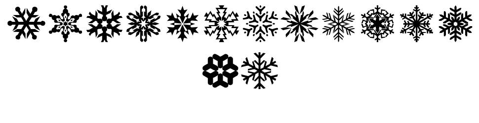LP Snowflake font
