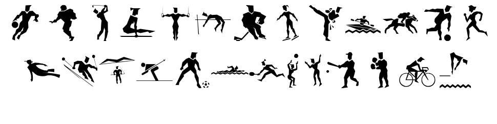 LP Sports 1 font