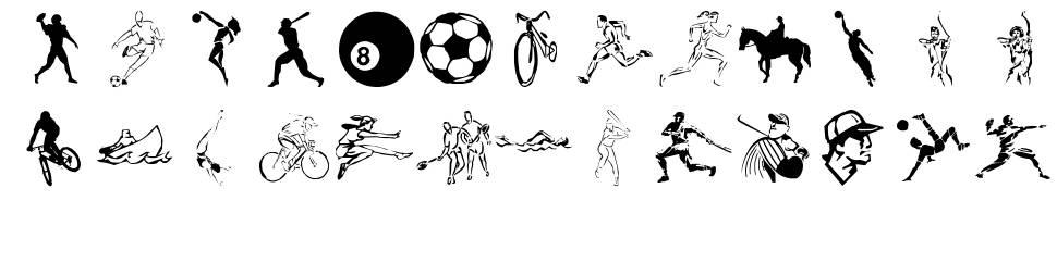LP Sports 2 font