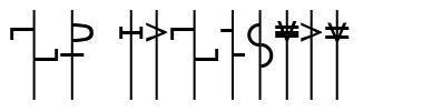 LR Talisman font