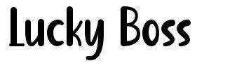 Lucky Boss font