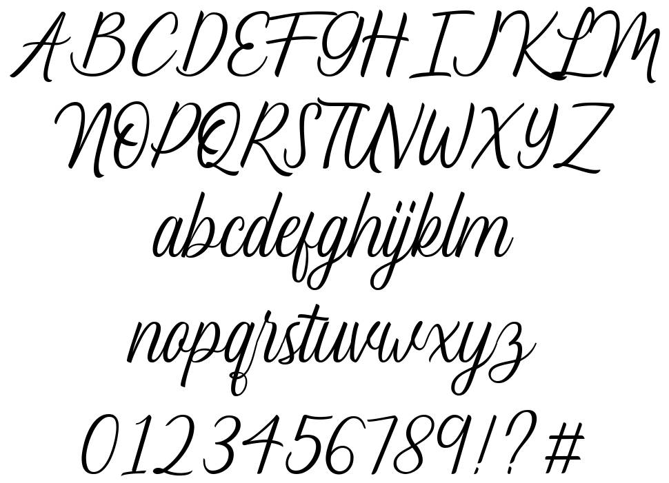 Lucy Carter font