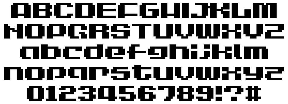 LVDC Game Over font