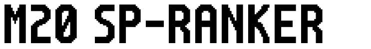M20 SP-Ranker