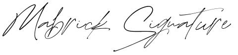 Mabrick Signature