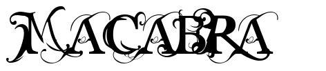 Macabra フォント