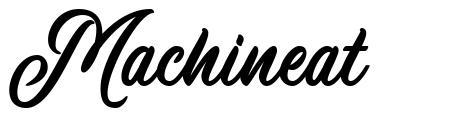 Machineat font