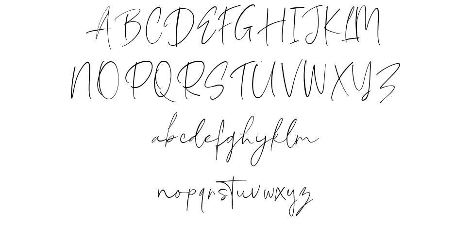 Mackle Script フォント