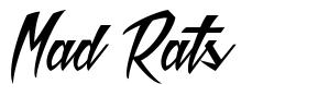 Mad Rats font