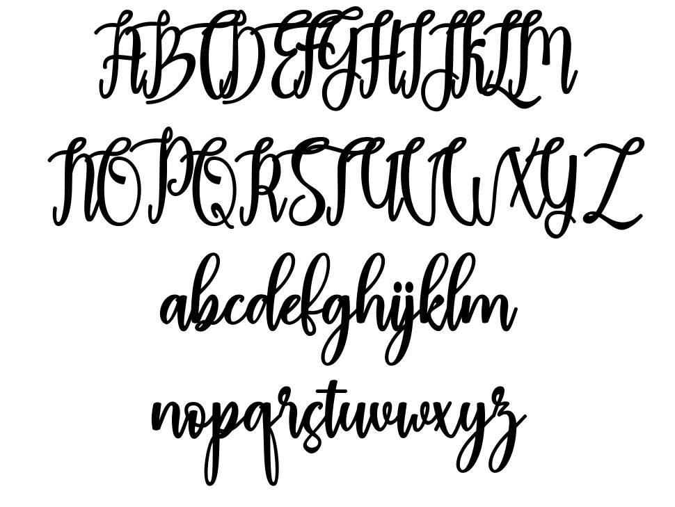 Madam font