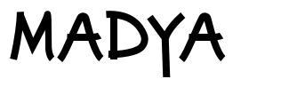 Madya font