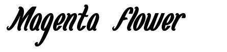 Magenta Flower font