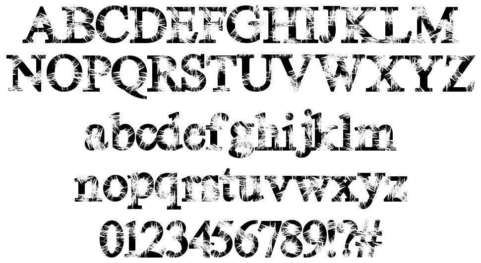 Magic Crystal font