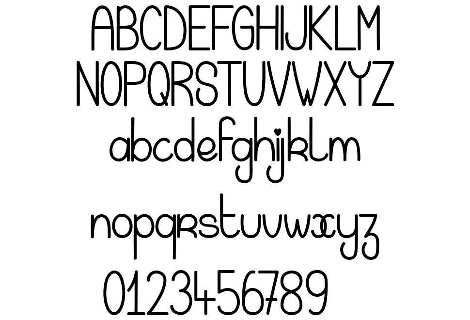 Magic Kiss font