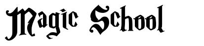 Magic School font