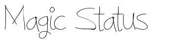 Magic Status font