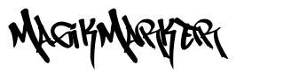 MagikMarker font