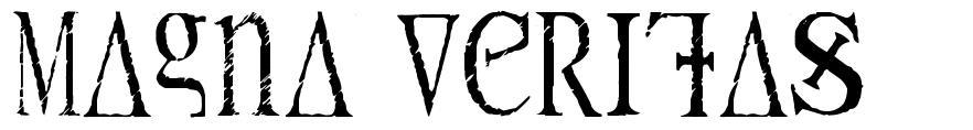Magna Veritas font