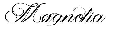Magnolia 字形