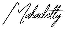 Mahadetty