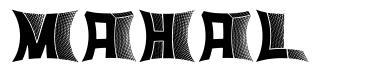 Mahal шрифт