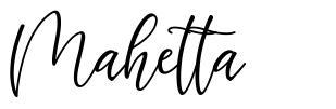 Mahetta