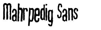 Mahrpedig Sans