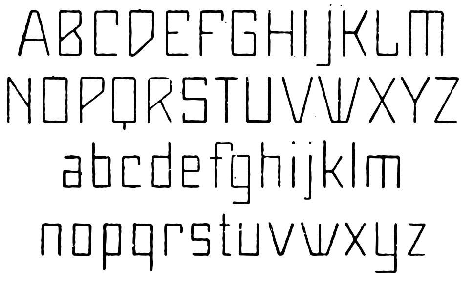 MaiersNr8 font