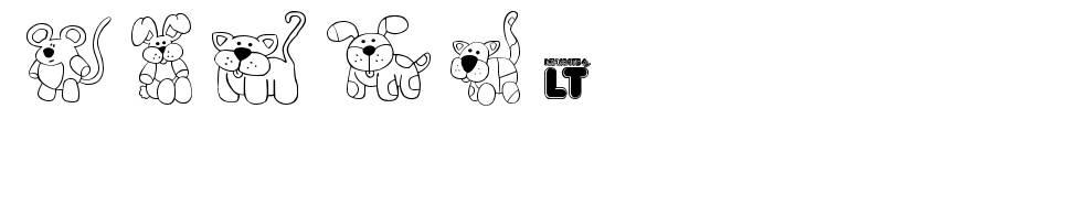 Make Your Own Pets LT font