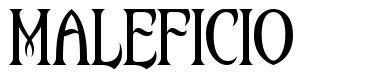 Maleficio font