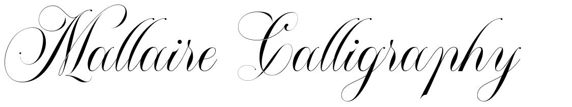 Mallaire Calligraphy