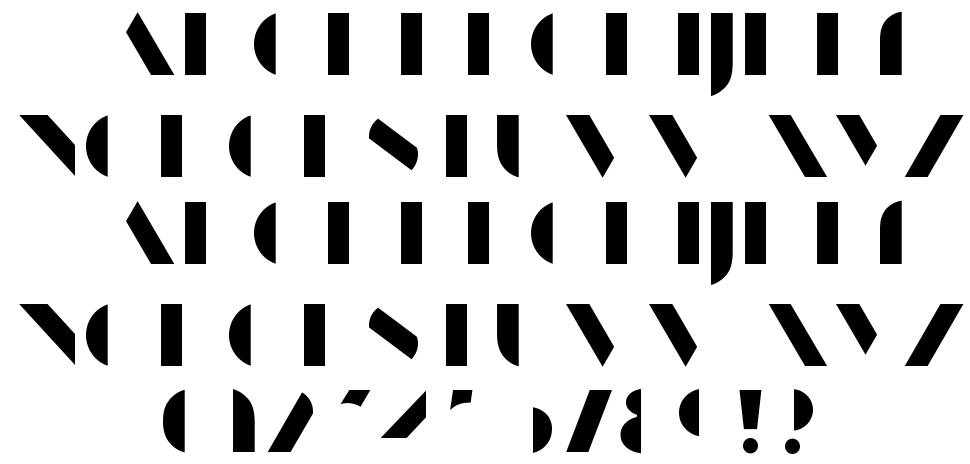 Manbow font