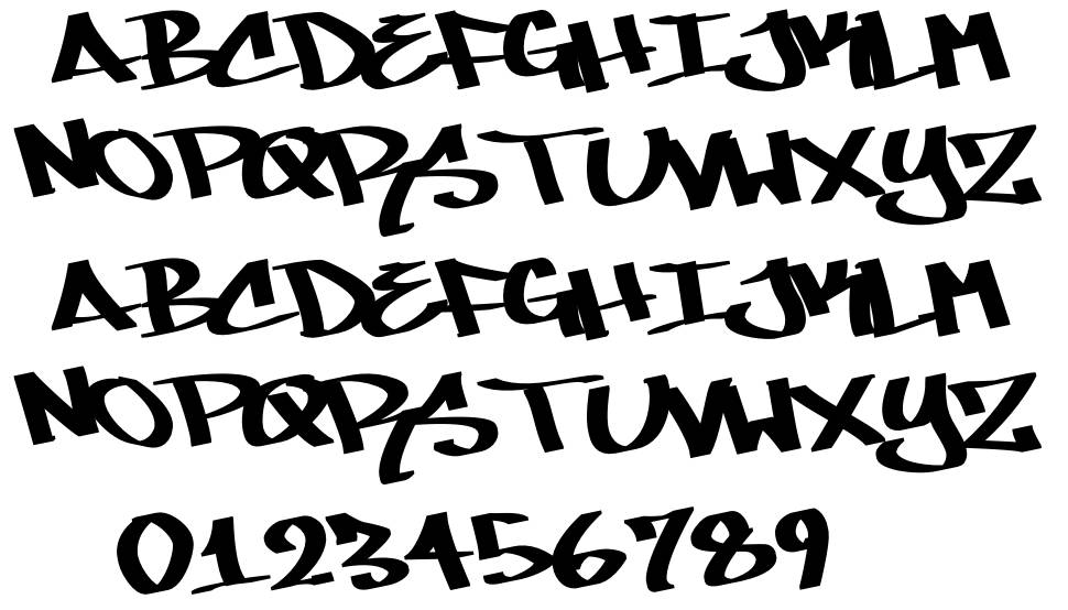 Mare 007 font