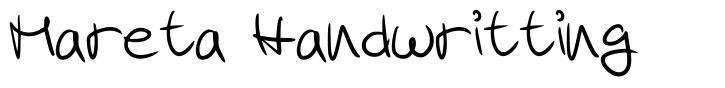 Mareta Handwritting
