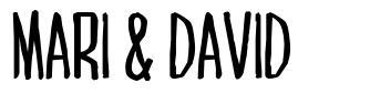 Mari & David