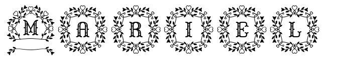 Mariel font