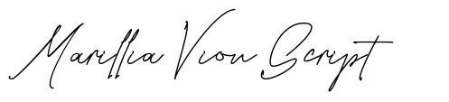Marillia Vion Script