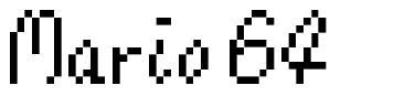 Mario 64 fonte