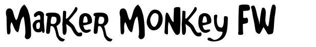 Marker Monkey FW fuente