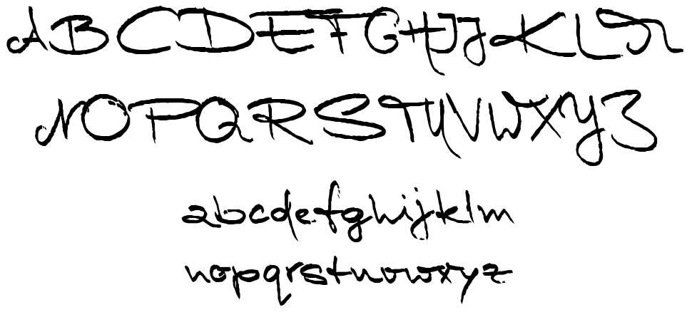 Marleen Script font
